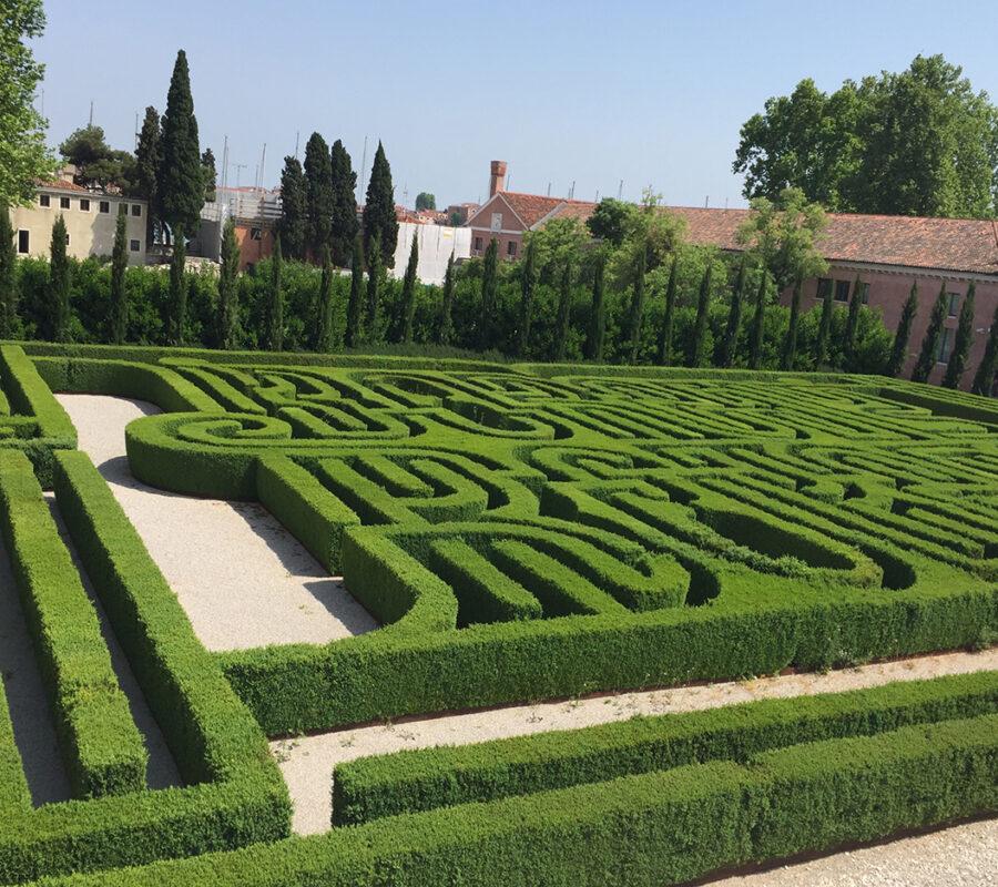 Fondazione Cini, Isola della Giudecca - Labirinto Borges