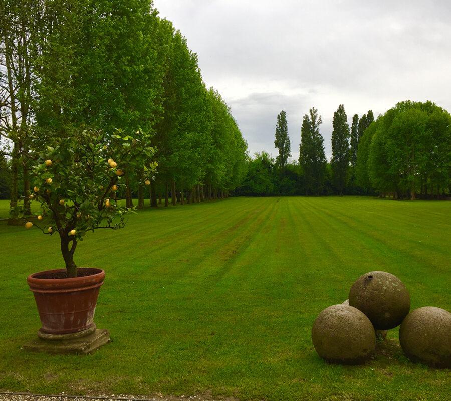 Parterre di Villa Pisani Strà