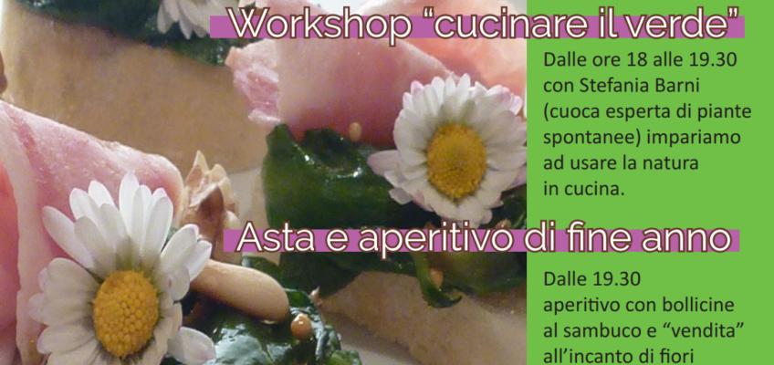 SBOCCIA E e… BISBOCCIA. Workshop di 'cucina verde', asta e aperitivo – 22/05 ore 18.00