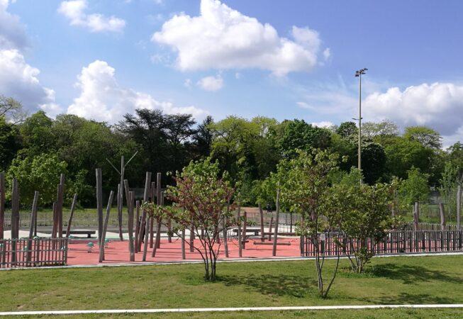 Il parco giochi ricreativo del Parc Clos Layat