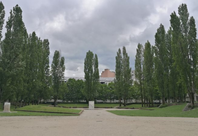 Jardin Hoche, Ecoquartier de Bonne, Grenoble.