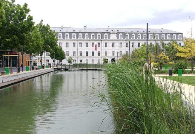 Jardin de la Caserme de Bonne, Ecoquartier de Bonne a Grenoble.