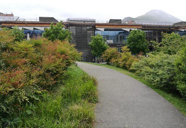 Collina nel Jardin de la Caserme de Bonne, Grenoble.