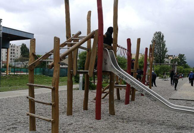 Area giochi del Parc Flaubert, Grenoble.