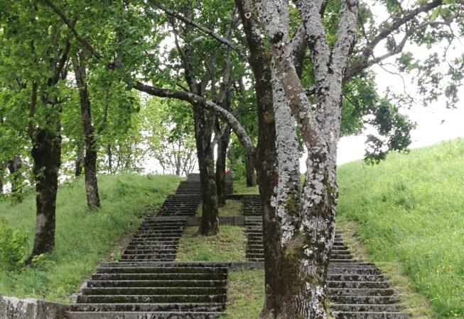 Parc de L'Arlequin, Villeneuve nei pressi di Grenoble. Progetto di M. Corajoud.